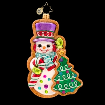 "Christopher Radko Glass Ornament - ""Frosty Sweet Treat Ornament"""