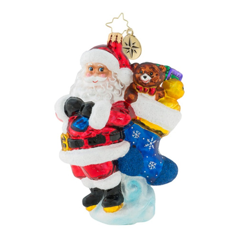 Christopher Radko Glass Ornament - Heaping Holiday Helping 2018