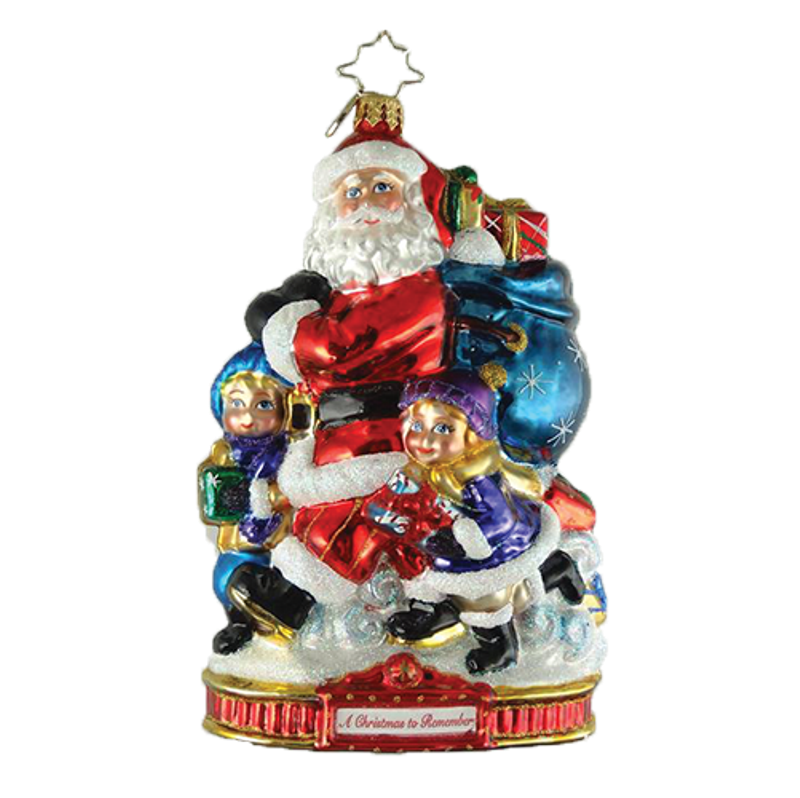 Christopher Radko Glass Ornament - Holiday Helpers 2018