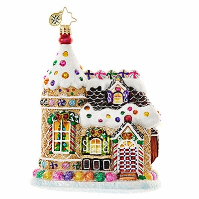 Christopher Radko Glass Ornament - Home Sweets Home 2018
