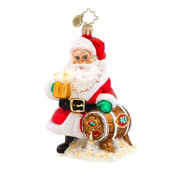 "Christopher Radko Glass Ornament - ""Hoppy Holidays To You"""
