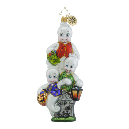 "Christopher Radko Glass Ornament - ""Jack -n- Ghoul"""