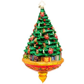 "Christopher Radko Glass Ornament - ""Joyous Celebrations"""