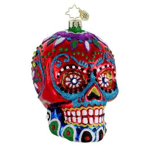 "Christopher Radko Glass Ornament - ""La Calavera Ornament"""