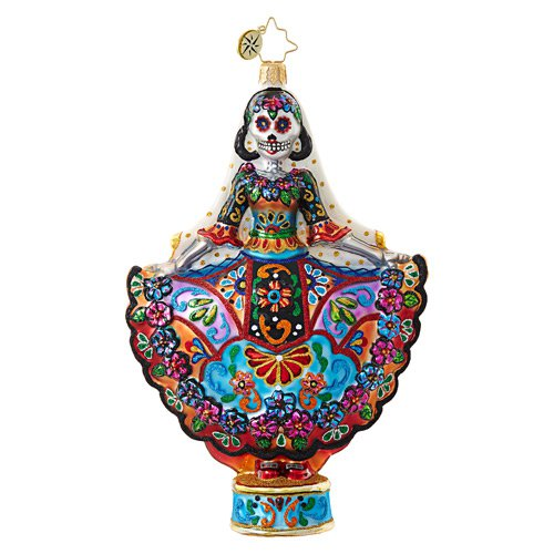 "Christopher Radko Glass Ornament - ""La Novia Muerta"""