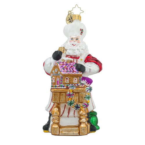 """Christopher Radko Glass Ornament - """"Masterpiece In The Making"""""""