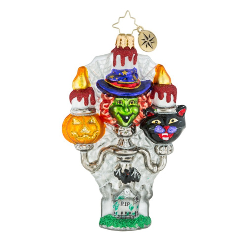 Christopher Radko Glass Ornament - Spooky Spires 2018