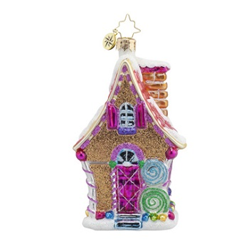 "Christopher Radko Glass Ornament - ""Sugary Chateau"""
