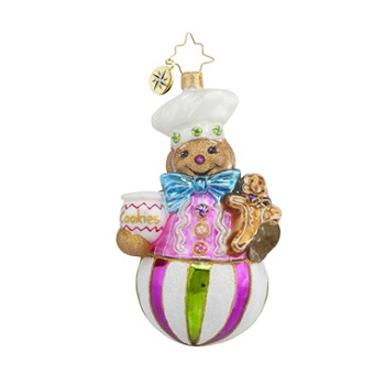 "Christopher Radko Glass Ornament - ""Sweet Treat Baker"""