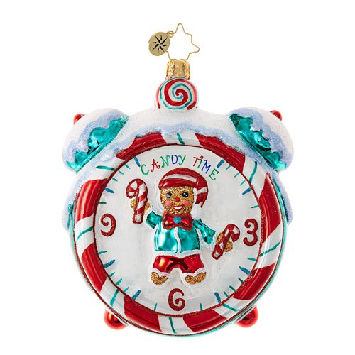 "Christopher Radko Glass Ornament - ""Sweetest Time of Year"""