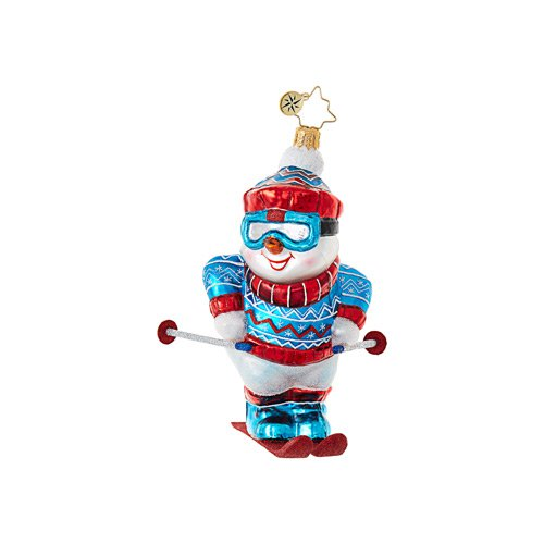 "Christopher Radko Glass Ornament - ""Swish!"""