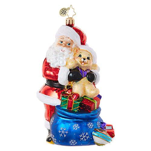 Christopher Radko Glass Ornament � The Best Medicine - Pediatric Cancer - Charity