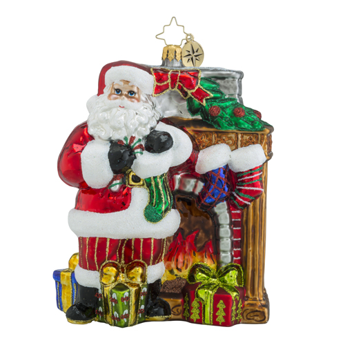 Christopher Radko Glass Ornament - Toasty Traditions