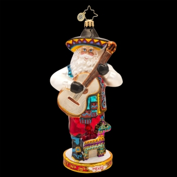 "Christopher Radko Glass Ornament - ""Viva Mexico"""
