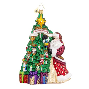 "Christopher Radko Glass Ornaments - ""30th Anniversary Collection"""