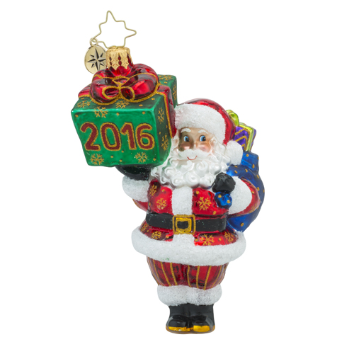"Christopher Radko Glass Ornaments - ""Brilliant Treasures Collection"""