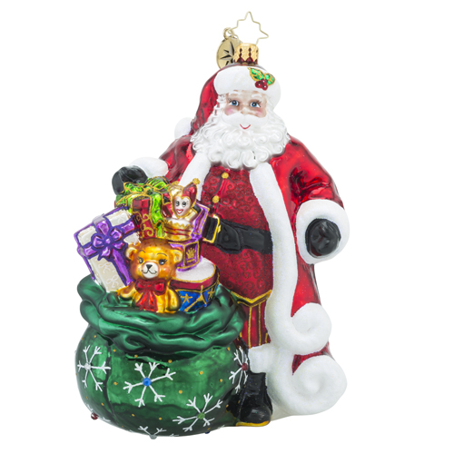 "Christopher Radko Glass Ornaments - ""Designer's Choice"""