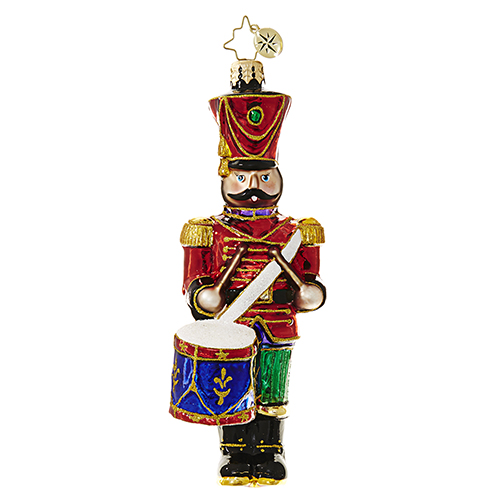 "Christopher Radko Glass Ornaments - ""Nutcrackers"""