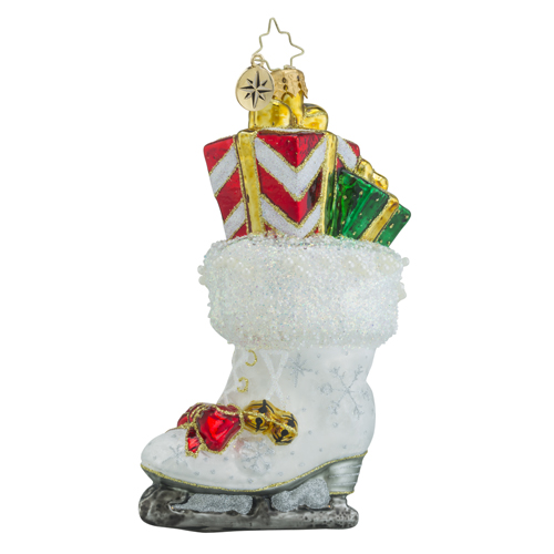 "Christopher Radko Glass Ornaments - ""Stockings"""