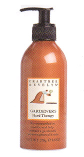 "CRABTREE & EVELYN - ""Gardeners Hand Therapy Cream Pump"""