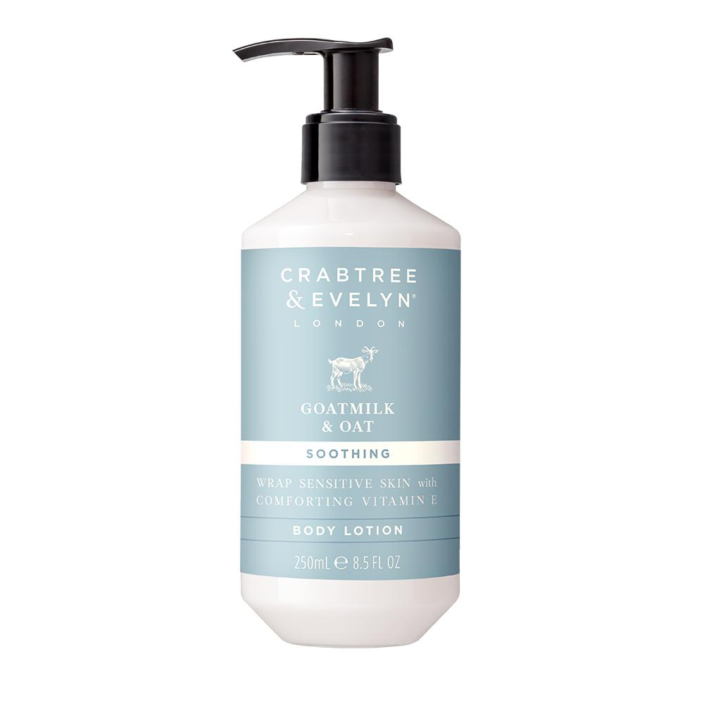 "CRABTREE & EVELYN  - ""Goat Milk & Oat Body Lotion"" - 250ml"
