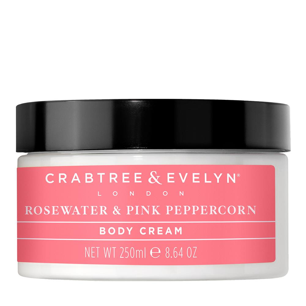 "CRABTREE & EVELYN  - ""Rosewater & Pink Peppercorn Body Cream"" - 250g"