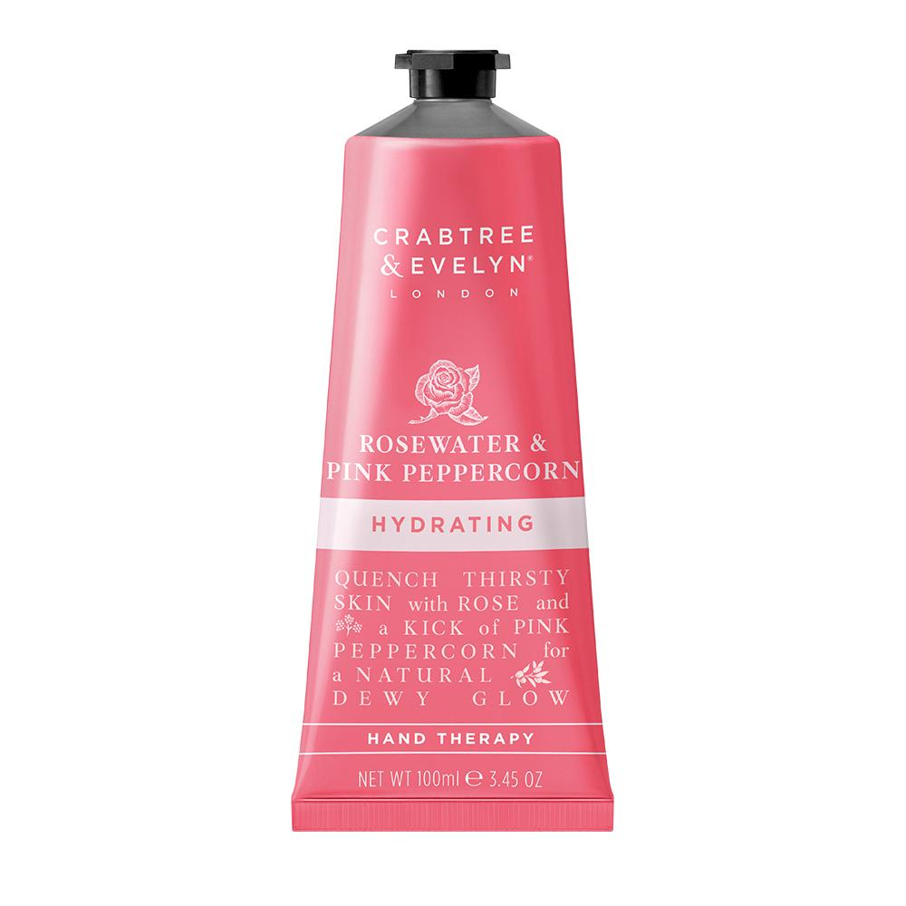 "CRABTREE & EVELYN  - ""Rosewater & Pink Peppercorn Hand Therapy"" - 100g"