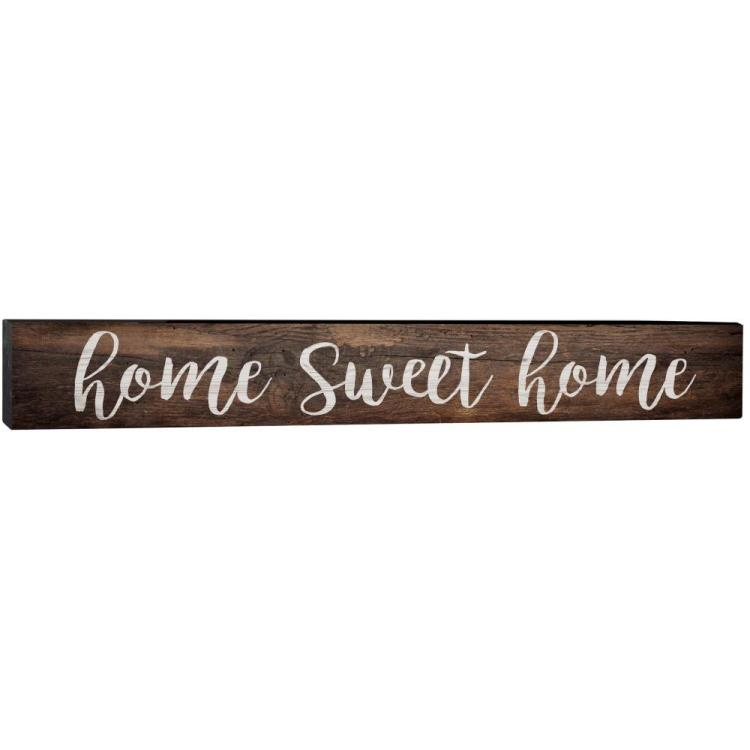 "Decorative Barnhouse Block Sign - ""Home Sweet Home"""