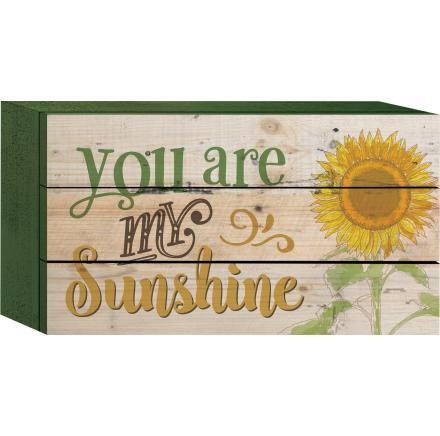 "Decorative Box Sign - ""Sunshine...Box Sign"""