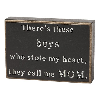 "Decorative Box Sign - ""There's These Boys... Box Sign"""