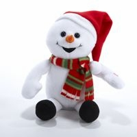 "Decorative Figurine - ""Animated Snowman"""