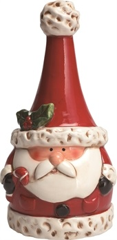 "Decorative Figurine - ""Decorative Santa Bell"""