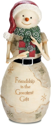 "Decorative Figurine - ""Friendship Snowman"""