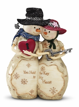 "Decorative Figurine - ""Key To My  Heart"""