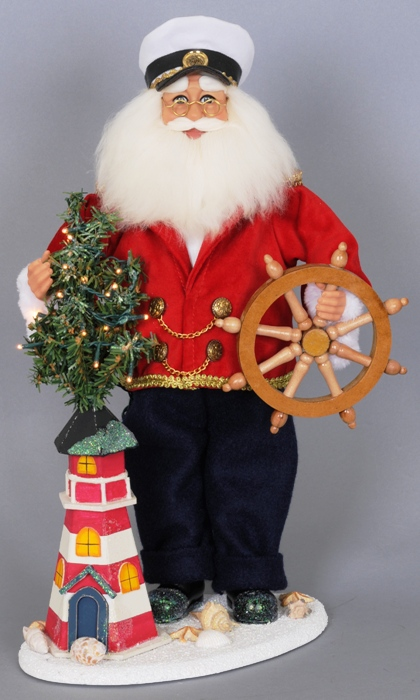 Karen Didion Santa - Limited Edition - Lighthouse Captain