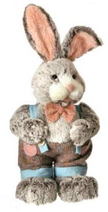 "Decorative Figurines - ""Boy Bunny"" - 17"""