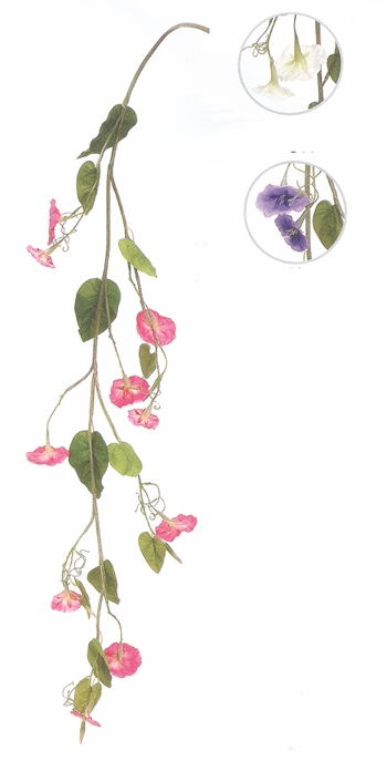 "Decorative Vine - ""Morning Glory Vines"" - 48"""