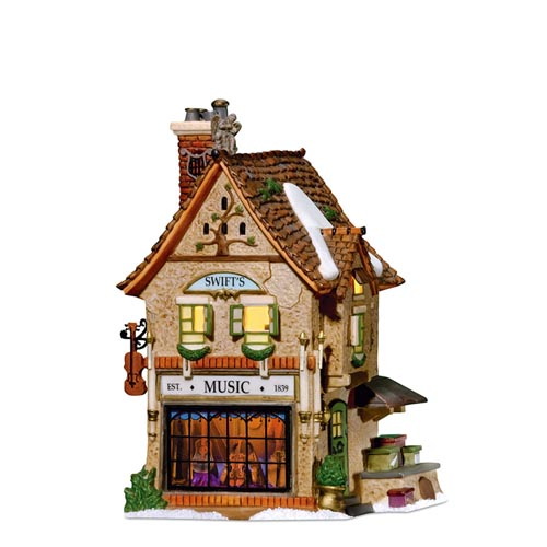 Department 56 Dickens Village - Swifts Stringed Instruments