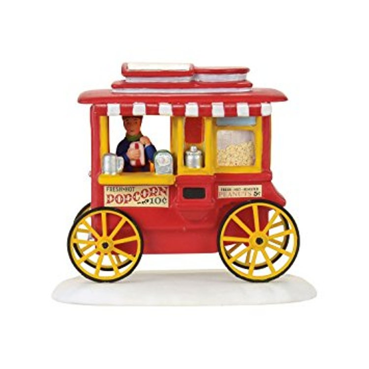 "Department 56 A Christmas Story - ""Christmas Story Popcorn Wagon"""
