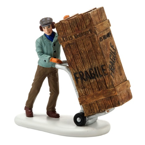 "Department 56 A Christmas Story - ""Fragile Delivery"""
