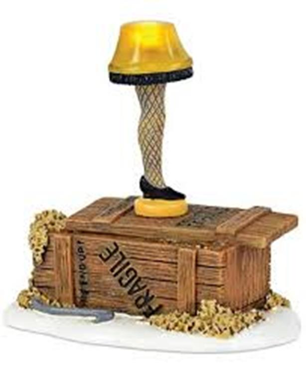 "Department 56 A Christmas Story - ""Lit Leg Lamp"""
