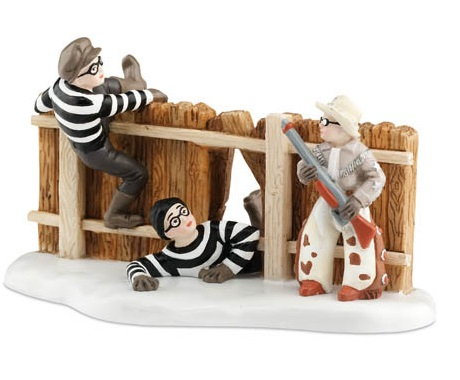 Department 56 A Christmas Story - Ralphie and Ol Blue Save the Day