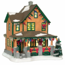 "Department 56 A Christmas Story - ""Ralphie's House"""