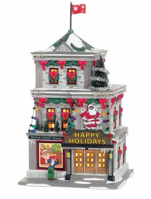 """Department 56 A Christmas Story - """"The Department Store"""""""