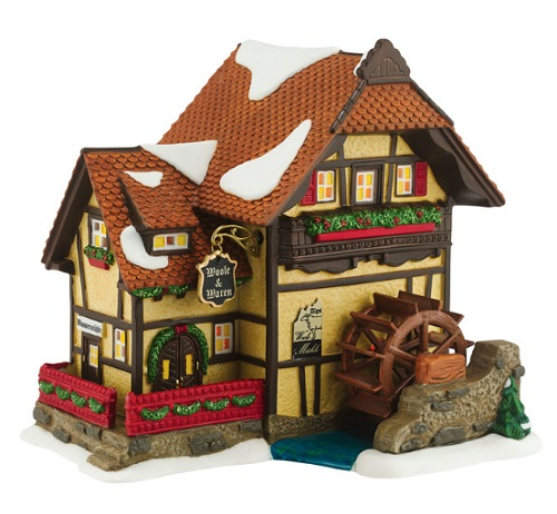 "Department 56 Alpine Village - ""Alpen Woolen Mill"""
