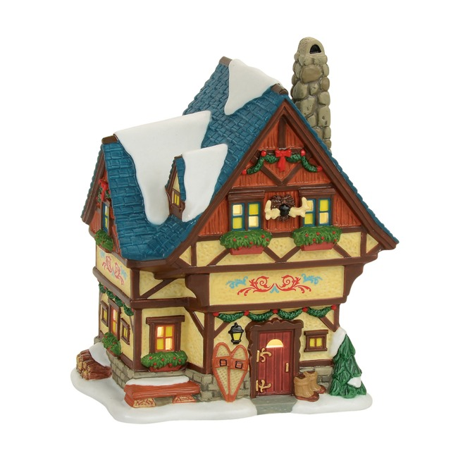 "Department 56 Alpine Village - ""Bavarian Cottage"""