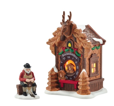 "Department 56 Alpine Village - ""Christmas Market, Black Forest"""