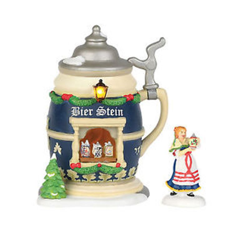 "Department 56 Alpine Village - ""Bier Stein Booth"""
