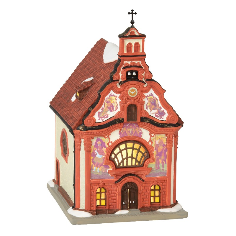 "Department 56 Alpine Village - ""Holy Ghost Church"" 2018"
