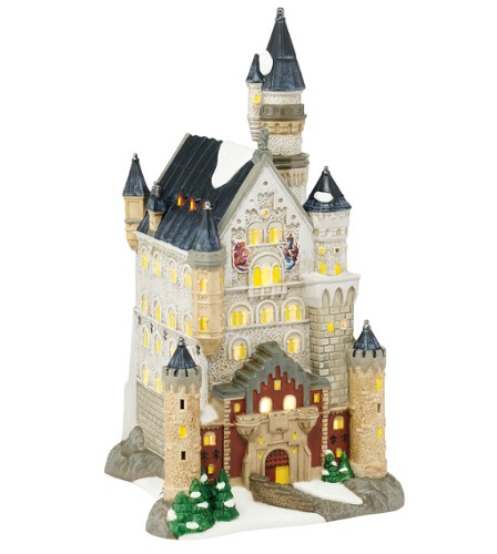 "Department 56 Alpine Village - ""Neuschwanstein Castle"""
